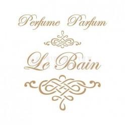 Stencil Deco Perfume 122