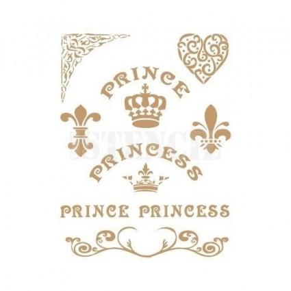 Stencil Deco Prince 0136