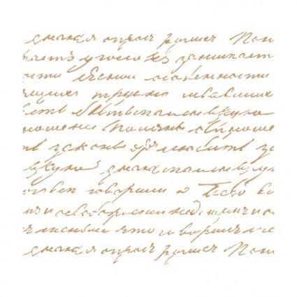 Stencil Deco Manuscrito 066