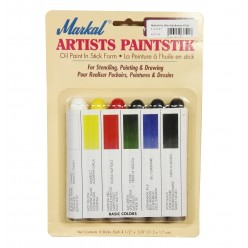 Set Pintura Markal Paintstik 6 colores