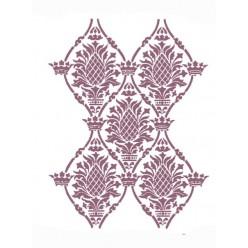 Stencil A3 damasco clasico