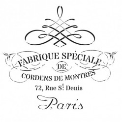 Stencil Cadence 45 x 45 París