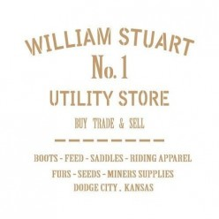 Stencil Deco vintage 080 williams Stuart