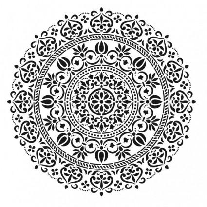 Stencil Cadence 45 x 45 Mandala