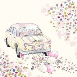 Servilleta Decoupage JUST MARRIED