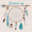 Servilleta Decoupage DREAM ON