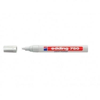 rotulador blanco Edding 750
