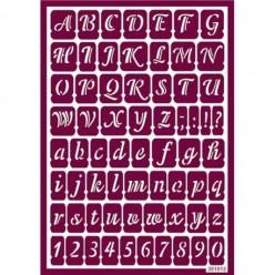 Stencil para ácido Abeledario mod.10 21 x 14,5 cm