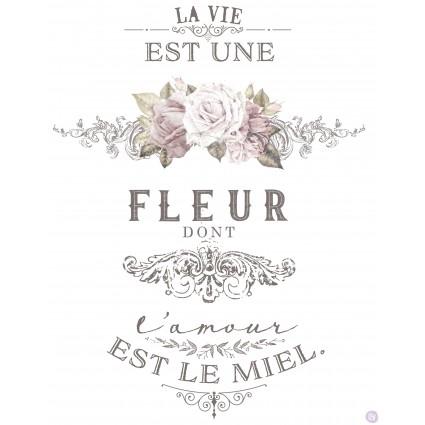 L'amour Est Le Miel 68.5x91.5