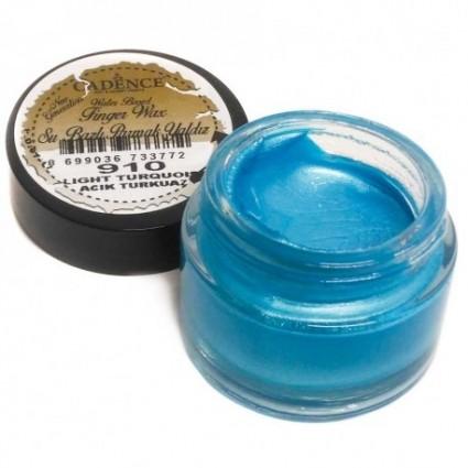Finger wax cadence azul turquesa