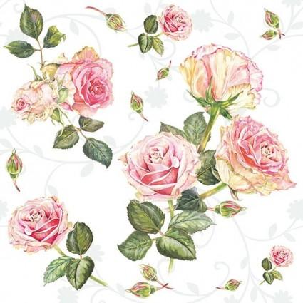 Servilleta ROSIE WHITE