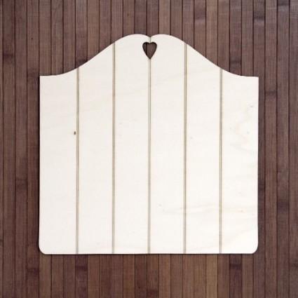 Soporte madera vintage listones (S) 20X20