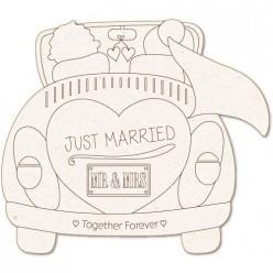Silueta Just Married (XXL) 18x18