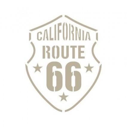 Silueta Escudo Ruta 66 (L) 11x14