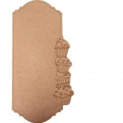 Posa-notas DM rectangular madalenas 35 x 14.5cm