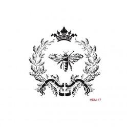Stencil ABEJA REINA 25X25