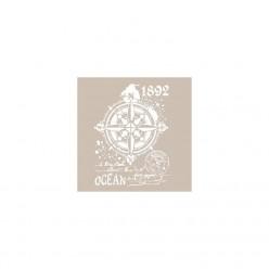 Stencil  ROSA DE LOS VIENTOS 30X21