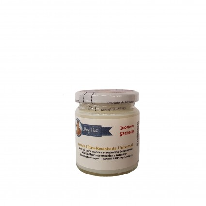 Barniz Semibrillo Incoloro 500, 250, 140ml Mary Paint