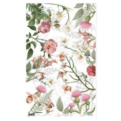 Papel de Arroz 54x33 Sping Vintage