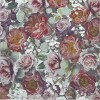 SERVILLETA 33X33 VINTAGE FLOWERS GREEN