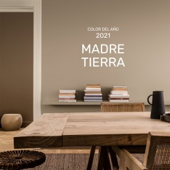 PINTURA PARED MADRE TIERRA MATE COLOR 2021
