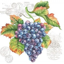 Servilleta Grape Vine