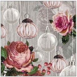 Servilleta ROSES AND BAUBLES